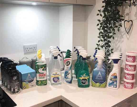 Mrs hinch cleaning products